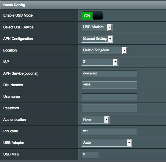 Asus RT-AC66U_B1 H/W B2 Huawei K4505 & ZTE MF821 NOT working